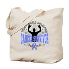 Stomach Cancer Tough Tote Bag