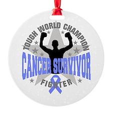 Stomach Cancer Tough Ornament