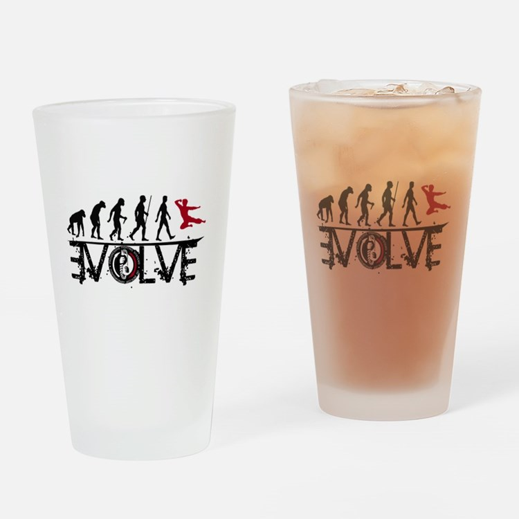 EVOLVE JKD Drinking Glass