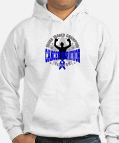 Rectal Cancer Tough Survivor Hoodie