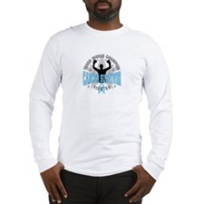 Prostate Cancer Tough Survivor Long Sleeve T-Shirt