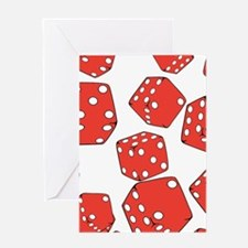 Roll the dice Greeting Cards