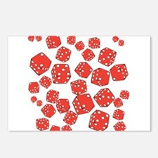 Roll the dice Postcards (Package of 8)