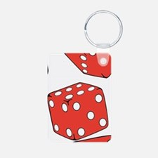 Roll the dice Keychains