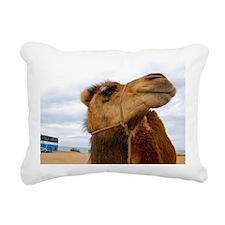 Moroccan Camel Rectangular Canvas Pillow