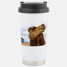 Moroccan Camel Stainless Steel Travel Mug
