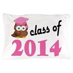 Class of 2014 (Owl) Pillow Case
