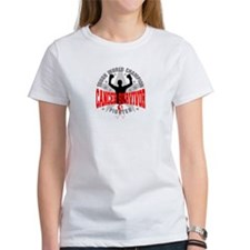 Oral Cancer Tough Survivor T-Shirt
