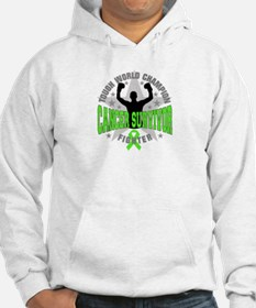 Non-Hodgkins Lymphoma Tough Survivor Hoodie