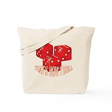 2-dice.png Tote Bag