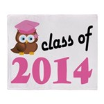 Class of 2014 (Owl) Throw Blanket
