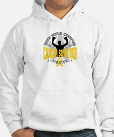 Neuroblastoma Cancer Tough Survivor Hoodie