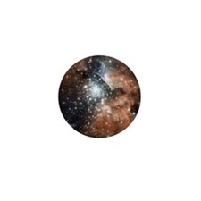 NGC 3603 star birth in Milky Way Mini Button