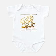 The Golden Dragon Infant Bodysuit