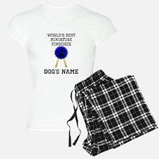Worlds Best Miniature Pinscher (Custom) Pajamas