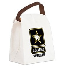 Army vet Canvas Lunch Bag