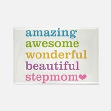 Amazing Stepmom Rectangle Magnet