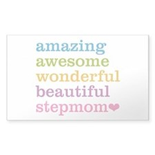 Amazing Stepmom Decal