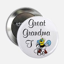 """Playful Great Grandma To Bee 2.25"""" Button"""