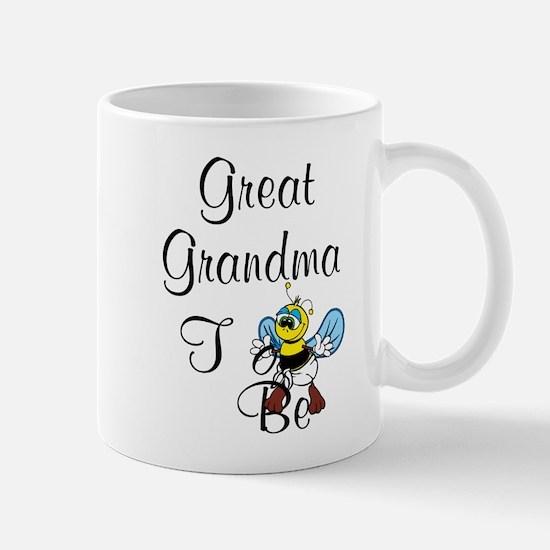 Playful Great Grandma To Bee Mugs