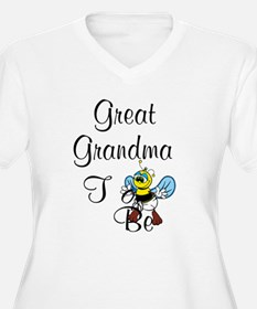 Playful Great Grandma To Bee Plus Size T-Shirt