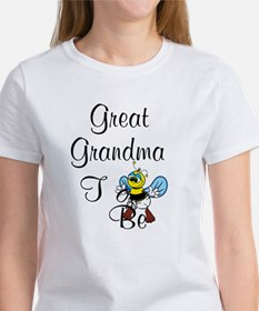 Playful Great Grandma To Bee T-Shirt