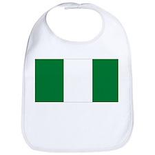 flag Nigeria Bib