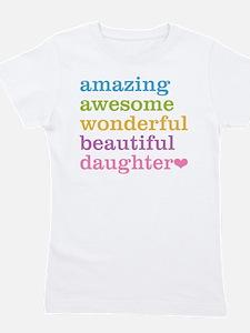 Amazing Daughter Girl's Tee