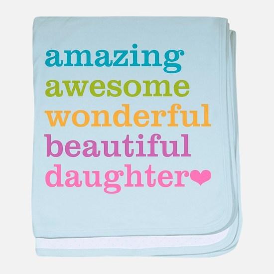 Amazing Daughter baby blanket
