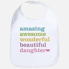 Amazing Daughter Bib
