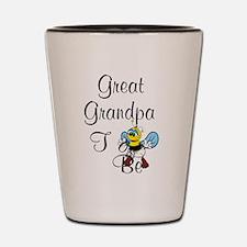 Playful Great Grandpa To Bee Shot Glass