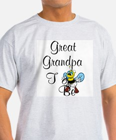 Playful Great Grandpa To Bee T-Shirt