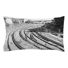 London Track  Pillow Case