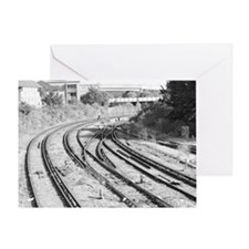 London Track  Greeting Card
