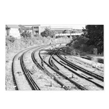 London Track  Postcards (Package of 8)