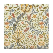 William Morris Flora Pattern Tile Coaster