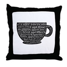 Cup of Joe and More Throw Pillow