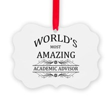 World's Most Amazing Academic Adv Ornament
