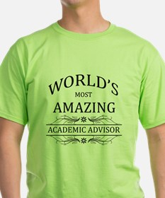 World's Most Amazing Academic Adviso T-Shirt