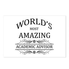 World's Most Amazing Acad Postcards (Package of 8)
