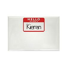 Hello Kieran Rectangle Magnet