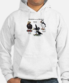 Puffins of the World Hoodie