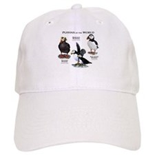 Puffins of the World Baseball Cap