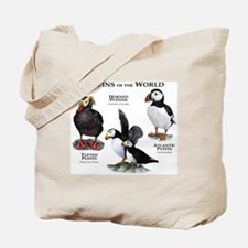 Puffins of the World Tote Bag