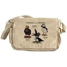 Puffins of the World Messenger Bag