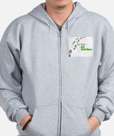 Hike To End Child Abuse Zip Hoodie