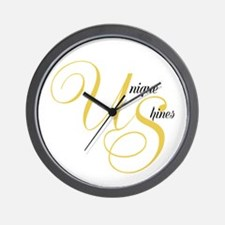 Unique Shines Wall Clock