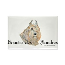 Bouvier Sweetie Rectangle Magnet