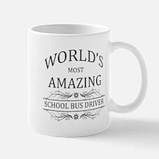 World's Most Amazing School Bus Driver Mug