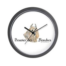 Bouvier Sweetie Wall Clock